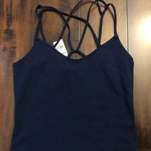 Navy blue camisole